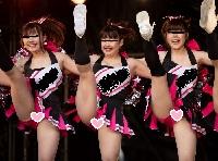 【写真高画質】チア15 有名ピンスコチームのラインダンス激写!Part.4【JDピンクアンスコ丸出し