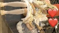 【感動的】美人レイヤーさんの垂直エロパンティー#5